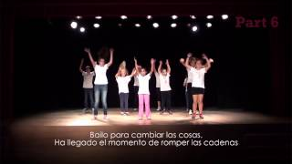 preview picture of video 'Coreografia Flashmob - Campanya contra la violència masclista'