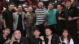 Welcome Thai Barbers to Vietnam x BarberShop Vu Tri - We had great time together