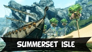 Skyrim mod: Summerset Isle Pt-Br