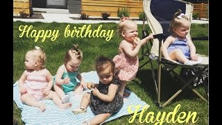 THE GIRLS GO TO A BIRTHDAY PARTY