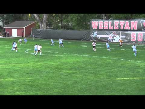 Liz Young'19: Game-winning goal vs. Tufts 9/15/15