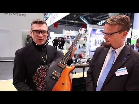 BASF und Jens Ritter - Die 3D-gedruckte Gitarre