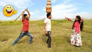 Must Watch New Funny Video😂😂Top New Comedy Video 2019 |Try To Not Laugh | @Fun_Ki_Vines #Hahaidea