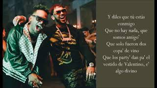 Adicto   Anuel AA & Ozuna   (Lyrics)
