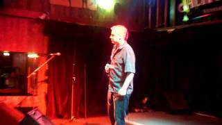 Paul E Dangerously singing Hold My Beer by Aaron Pritchett at Gabby's Country Cabaret