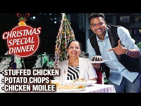 Traditional Christmas Dinner Recipes – Varun Inamdar – Christmas Meal Preparation