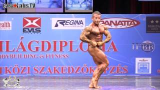 2012 World Championships BUDAPEST   master bodybuilding 40 49y up to 80kg   2