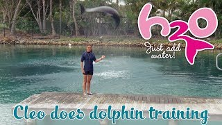 H2O: Just Add Water - Cleo Is A Dolphin Trainer