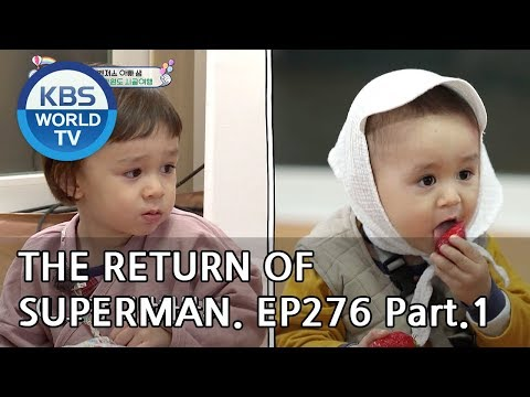 The Return of Superman   슈퍼맨이 돌아왔다 - Ep.276: Do Whatever You Want To Do part1[ENG/IND/2019.05.12]