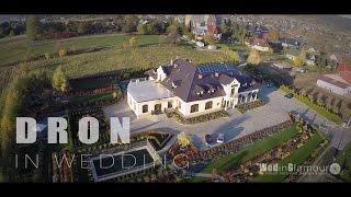Filmowanie ślubu  z wykorzystaniem drona