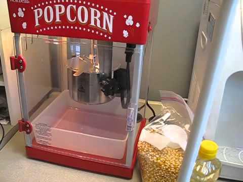 La mejor maquina para hacer palomitas de maiz