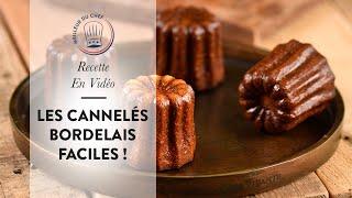 Tuto vidéo : les Cannelés Bordelais de Chef Philippe en version courte