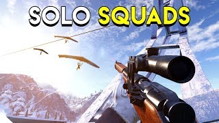 Solo Squads in Ring of Elysium!