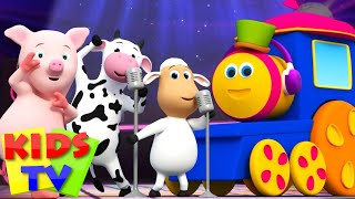 Bob The Train | Animal Sounds Songs for Kids | kids tv shows | nursery rhyme  |  Bob the train