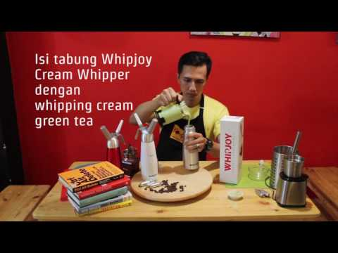 Video Cara Membuat Whipped Cream Green Tea