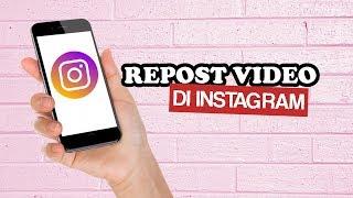 Cara Repost Video di Instagram dengan Aplikasi Regrann