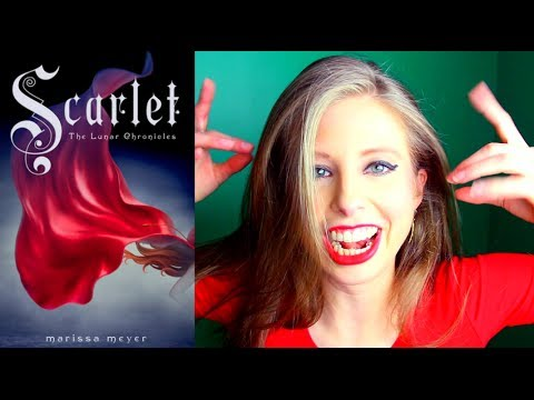 SCARLET BY MARISSA MEYER | booktalk with XTINEMAY