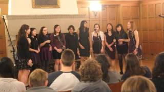 Edelweiss (The Sound of Music) - Pipettes A Cappella at Winter Concert 2015