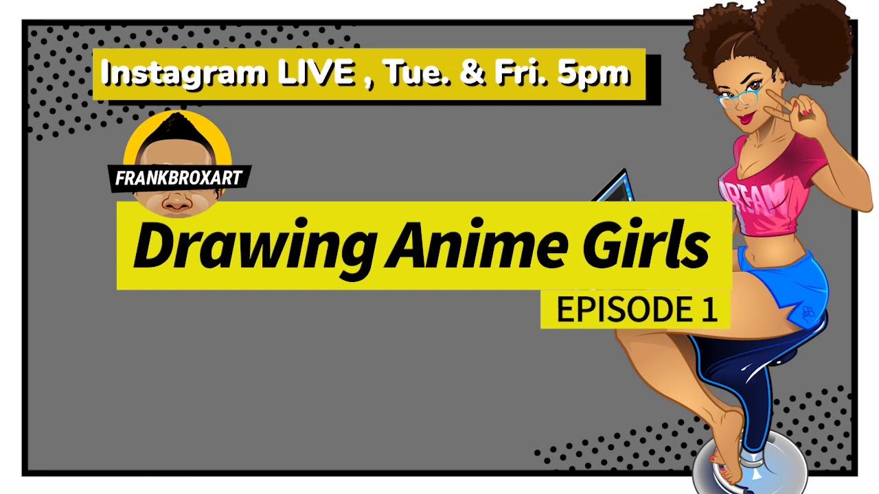 Drawing Anime Girls1
