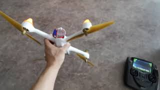 ドローン hubsan H501S X4 のキャリブレーション方法とモーターロック解除