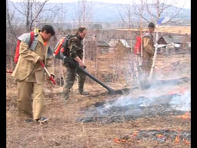 Масштабные учения пожарных прошли в Новоодинске