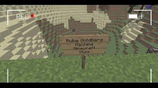 Minecraft- Epic Rube Goldberg Machine- (Piston, Redstone etc)