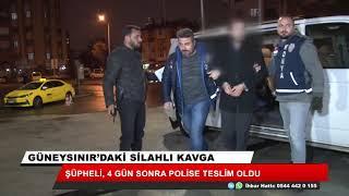 Konya'daki cinayetin şüphelisi gözaltına alındı!