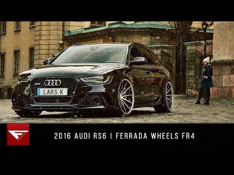 2016 Audi RS6   4k   Ferrada Wheels FR4