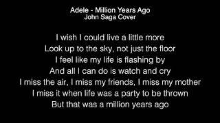 Adele - Million years ago Lyrics