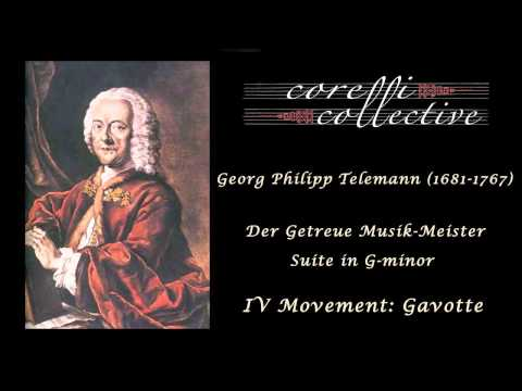 Telemann, Suite in G minor - Gavotte