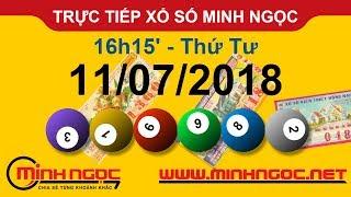 Trực tiếp xổ số MINH NGỌC T4 Ngày 11-07-2018 - Kênh Youtube chính thức từ Minhngoc.net.vn