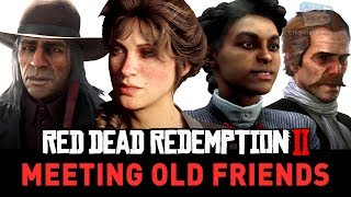 Red Dead Redemption 2 - What Happens to the Old Gang and Friends