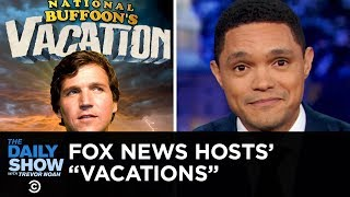 Tucker Carlson Takes a Sudden Vacation Following His Hot Take on White Supremacy | The Daily Show