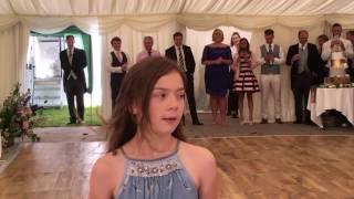 Priya Irish Dancing to Ed Sheeran's Nancy Mulligan at my cousins wedding