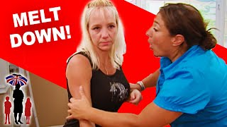 Supernanny | Mom Melts Down When Supernanny Disciplines Her Kids
