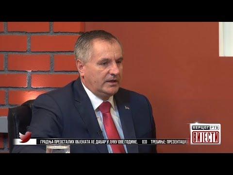 Radovan Višković - Gost 'Vijesti' Herceg RTV (VIDEO)