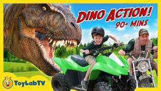 Giant Life Size Dinosaur Adventure With Jurassic World Fallen Kingdom Toys & 90+ Mins of Dinosaurs