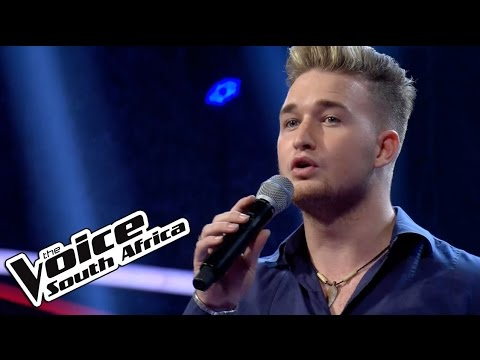 Jono Johansen sings 'Lay me Down'  | The Blind Auditions | The Voice South Africa 2016 (видео)