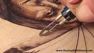 How To Burn A Patterned Feather