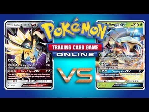 Dusk Mane Necrozma GX / Garbodor VS Random Decks – Pokemon TCG Online Gameplay