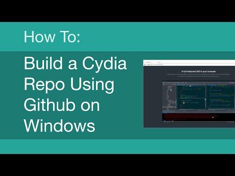 How to make a Cydia repo using Github