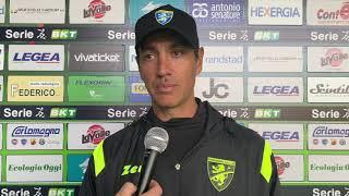 Intervista a Nesta dopo Cosenza- Frosinnone 1-2