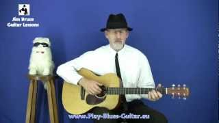 The Broonzy Swing - Jim Bruce Blues Guitar Lessons