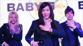 140320 SNSD - Wait A Minute (Fancam Compilation) @Baby-G Party