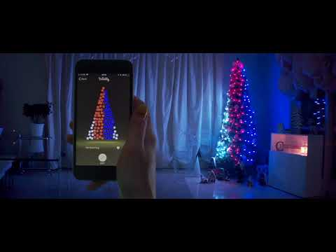 TRECCIA DI LUCI CONTROLLABILE VIA APP, 175 LED
