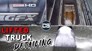 Deep Cleaning a Kid-Hauling DIRTY Truck | Satisfying Interior and Exterior Car Detailing!