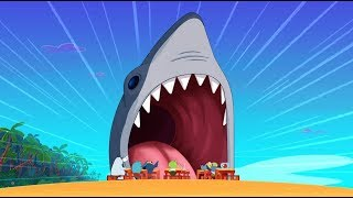 Zig & Sharko 🦈 REAL SHARK 🦈 The king of the sea 🌊 Cartoons for Children