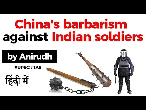 China's barbarism against Indian soldiers, Indian Army equip soldiers with Anti Riot Body Protector