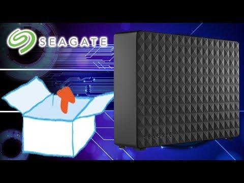 Unboxing | Seagate Expansion Desktop 6 TB externe Desktop Festplatte