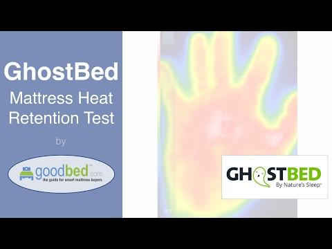 GhostBed Mattress Heat Retention Test (VIDEO)